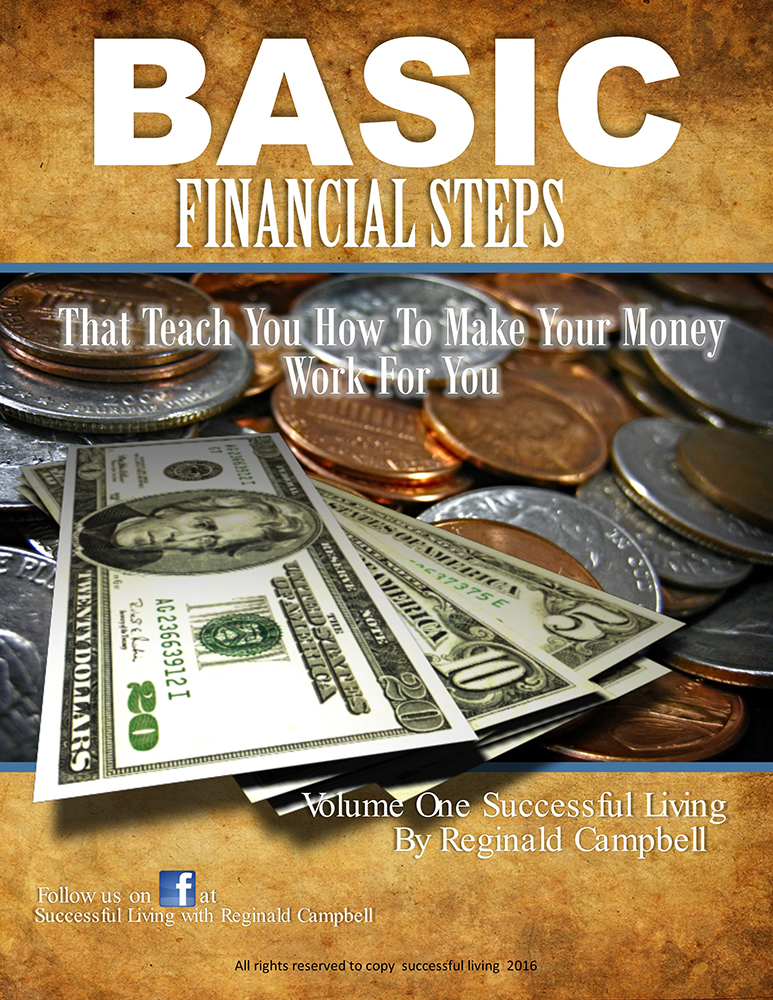 successful living, basic financial steps, financial advice book